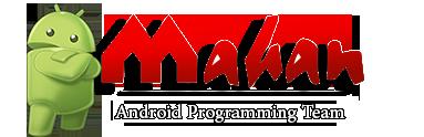 لوگوی برنامه نویسی اندروید ماهان